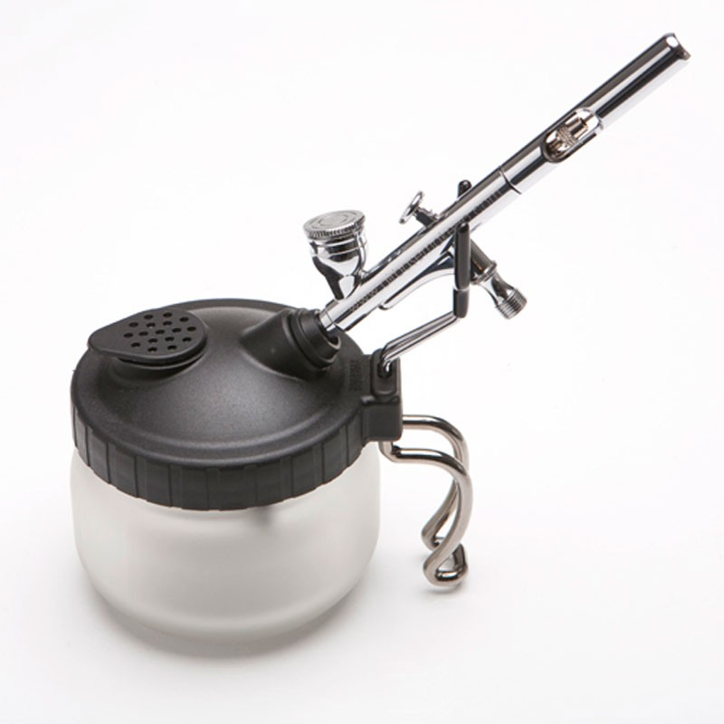 Airbrush Make-Up Cleaning Pot / Stand